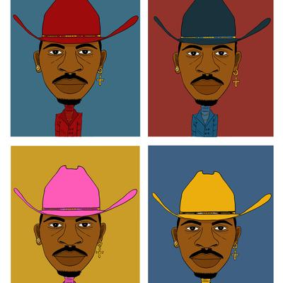 4 x Lil Nas X.
