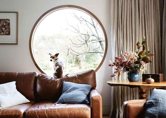 Des fenêtres cadrées pour mettre en valeur le paysage