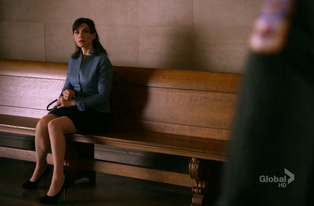 Critiques Séries : The Good Wife. Saison 3. Episode 9.