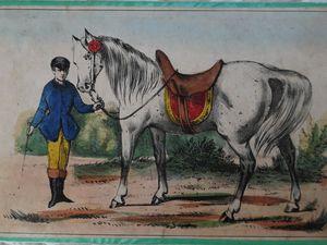 jeu du cheval blanc par Coqueret