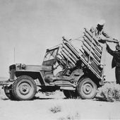 Willys MB with BM-8-8 82mm Rocket Launcher - Suggestions