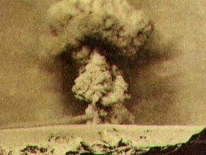 L'éruption du Katla en 1918 - photos d'archives