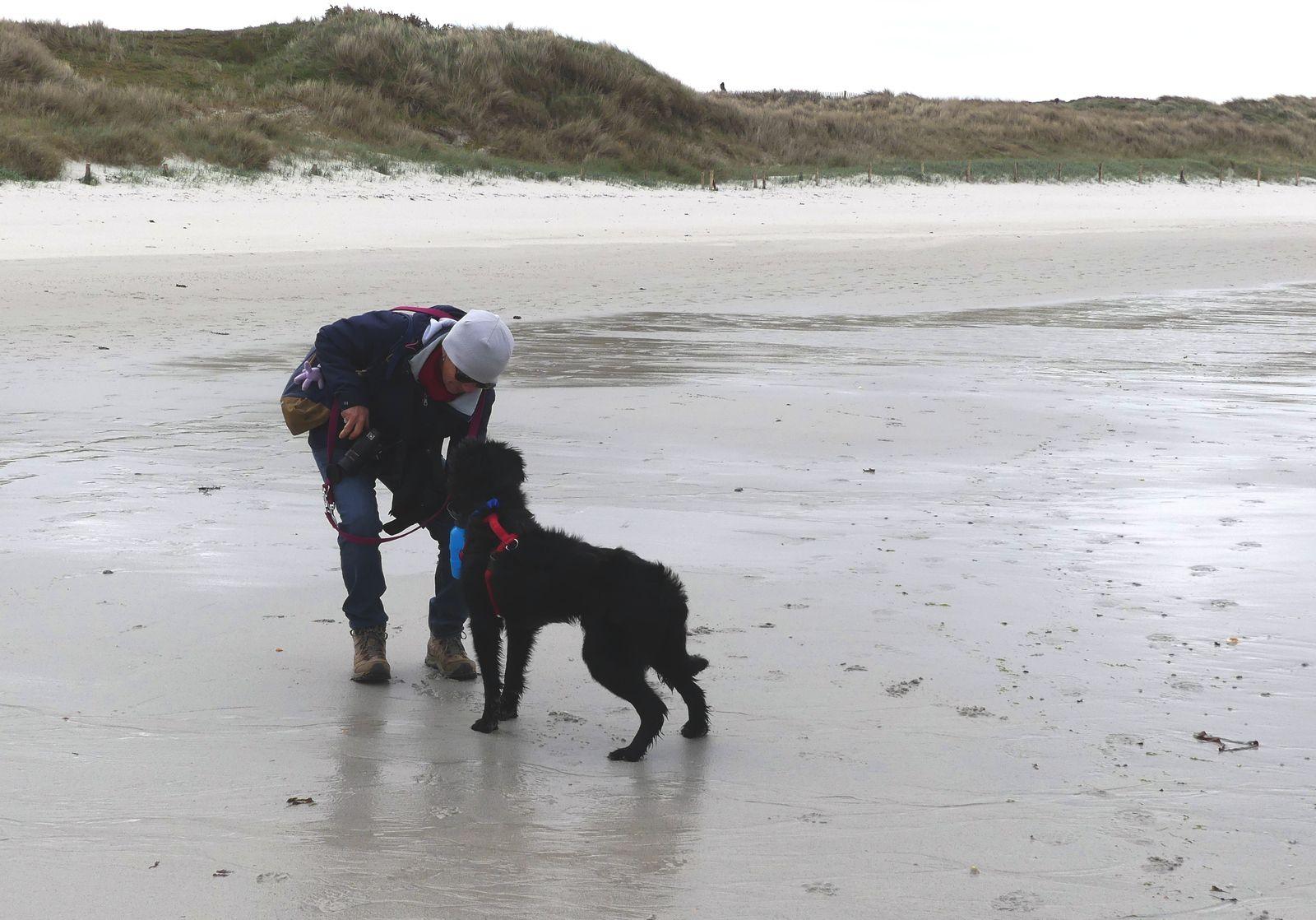 Dernière plage en avril