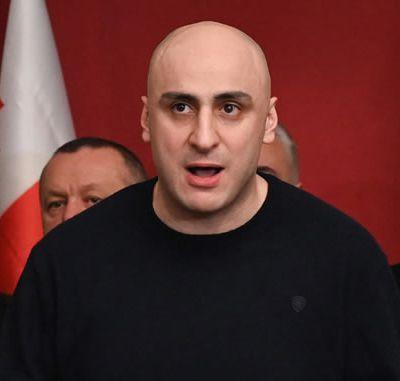 Nika Melia, l'un des chefs de l'opposition en Géorgie, arrêté lors d'une opération policière