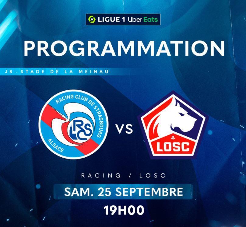 Strasbourg / Lille : Sur quelle chaîne suivre la rencontre samedi ?