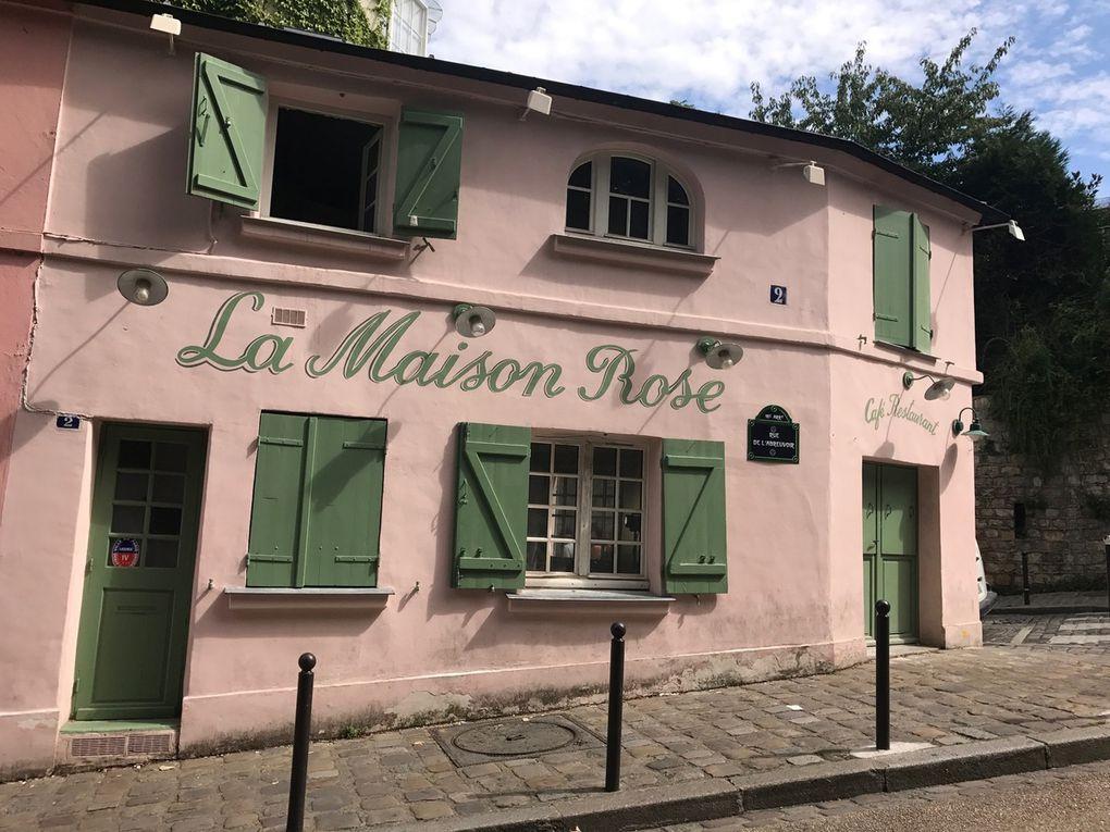 Montmartre au mois d'août