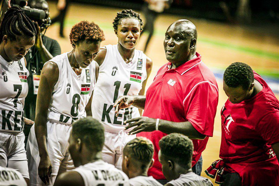 Sous les ordres du coach Ronnie Owino, le Kenya a fini au dernier rang du FIBA Women's AfroBasket 2019 à Dakar (Sénégal)