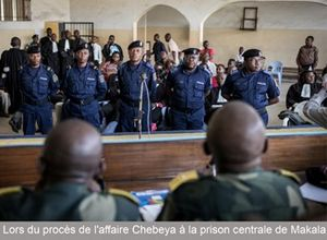 rfi - Procès Chebeya : le général Numbi, le grand absent