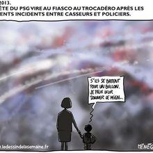 Fête du PSG au Trocadéro