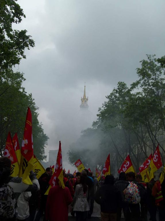 manifestation paris - 10 Mai 2016