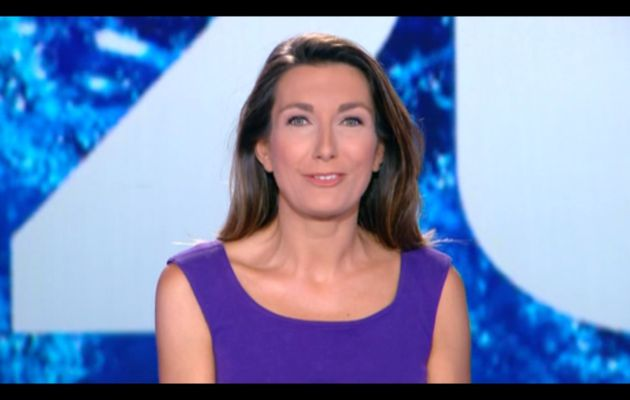 [2012 08 05] ANNE-CLAIRE COUDRAY - TF1 - LE 20H @20H00