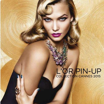 Tout le glamour de la French Riviera dans la nouvelle collection maquillage L'or Pin-up de L'OREAL