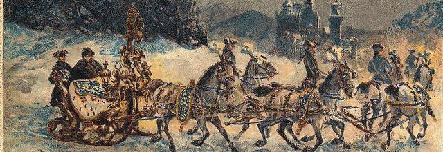 Des traineaux de conte de fées pour le roi Ludwig II de Bavière