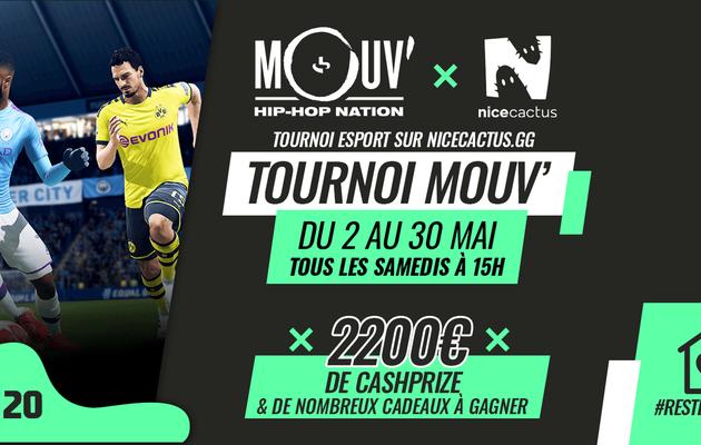 [ACTUALITE] Mouv' lance son premier tournoi e-sport avec Nicecactus