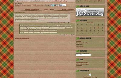 InDaWoods OverBlog Template