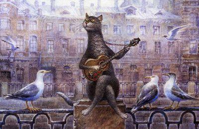 Les chats pétersbourgeois de Vladimir Roumiantsev