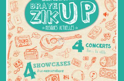 Programmation musicale BrayeZik'Up 2021 à St-Jean de Braye : Muddy & The Hype, Back And Forth, VLAP, TIÂA