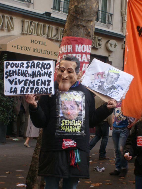 Album - -16 octobre 2010 Manif retraites Paris