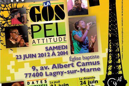 3 dates concerts 21, 23, 24 juin 2012