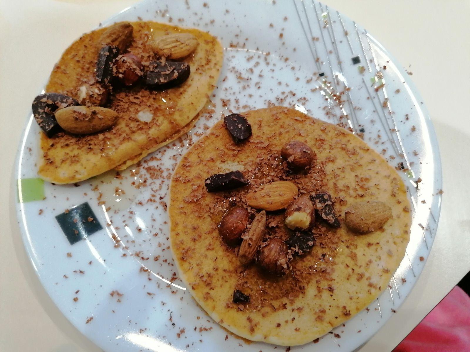 Pancakes sans oeuf