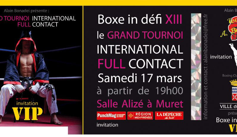 Boxe in défi XIII 2012