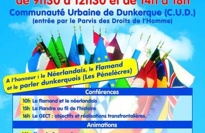 10ème Salon des Langues de Dunkerque : A  l'honneur : le néerlandais, le flamand et le parler dunkerquois.