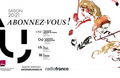 Ma saison symphonique 2020/2021 de Radio France