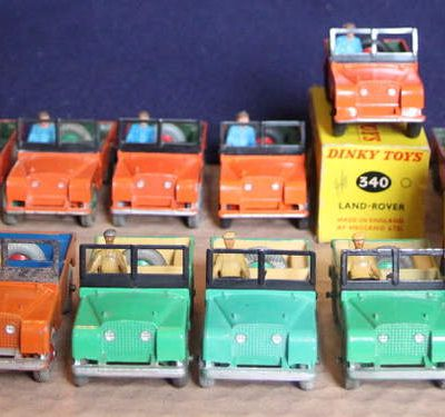 DINKY-TOYS 27D/340 LAND ROVER (Part 1)