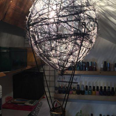 Tuto : Suspension montgolfière