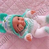 tuto gratuit poupée : bonnet chat - Chez Laramicelle