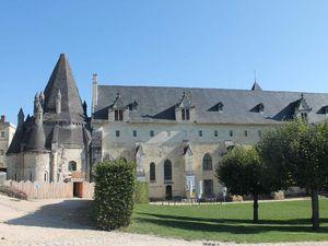 Une halte sur la route de la Brière : l'abbaye royale de Fontevraud