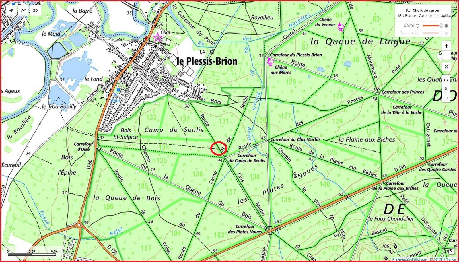 carrefour_Route du Clos Martin_Sentier (parcelle 131)
