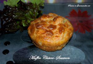 Muffin Chèvre et Saumon