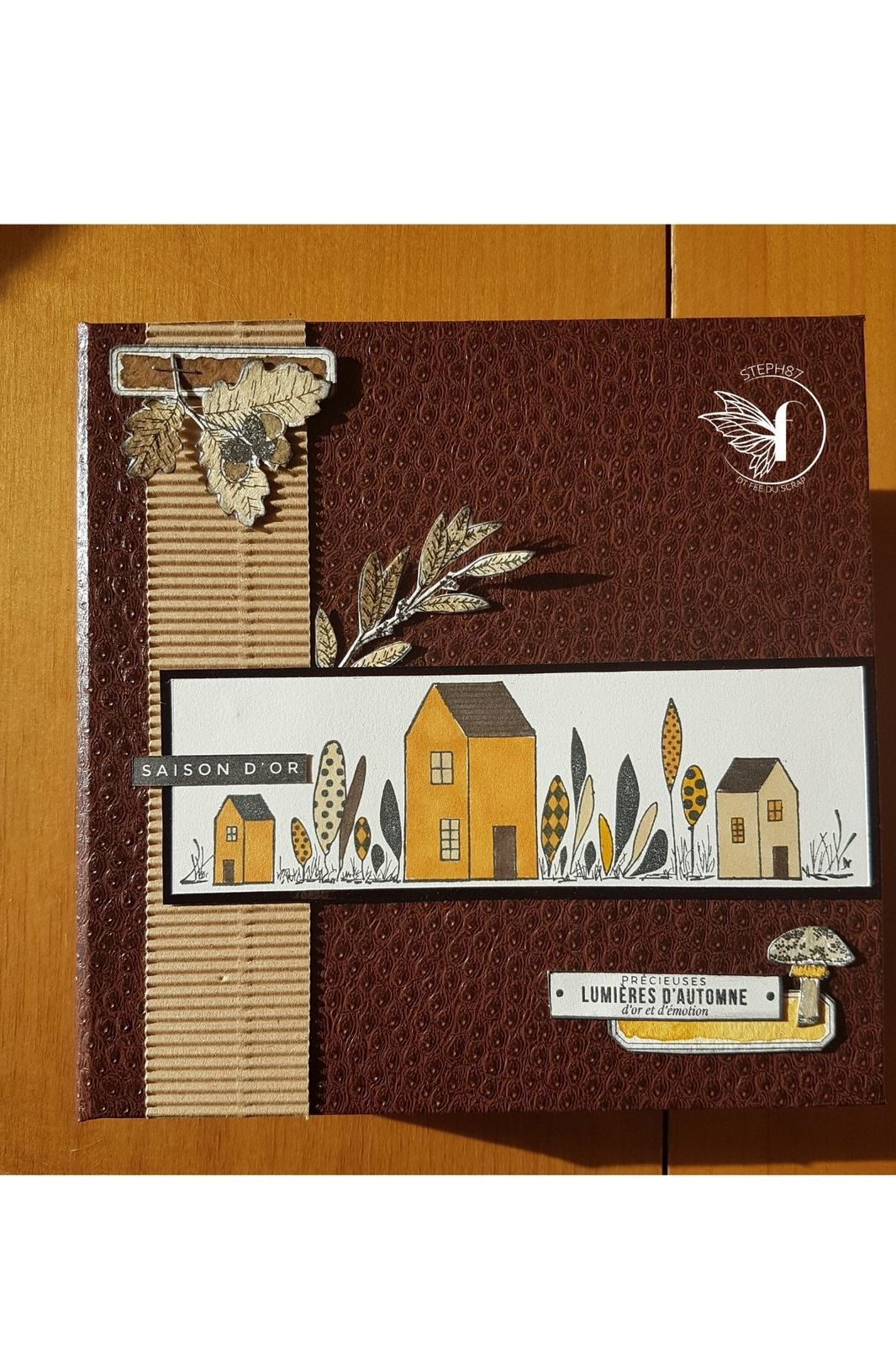 Stephscrap87... mini album automnal