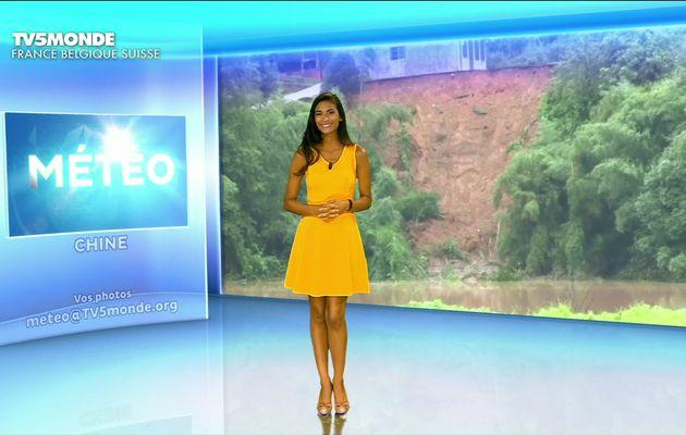 La vidéo de LA METEO de TATIANA SILVA le 2016 08 08 sur TV5 MONDE