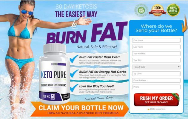 Keto Pure Trim:-Is This The Best Weight Loss Diet supplement???