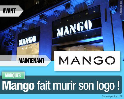 Mango fait murir son logo !