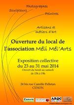Ouverture du local de l'association Méli Mél'Arts
