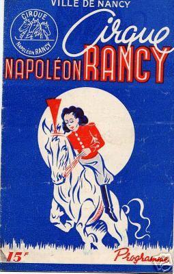 Henri Rancy  (1896-1972), fils de Napoléon et père de Sabine