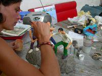 Création à la maison (2003) > Atelier La Bifurk (2004) > Festival Fort Barraux (2006)