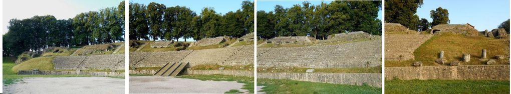 Quel dommage que le théâtre antique d'Autun ait été pillé car utilisé comme carrière au fil des siècles!