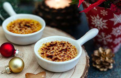 Crèmes brulées au foie gras