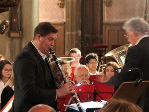Brian Uribe , clarinetiste de talent