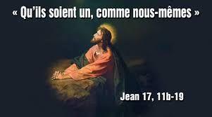 Evangile du 16 Mai « Je parle pour qu'ils aient en eux ma joie, et en soient comblés » (Jn 17, 11b-19) #parti2zero #evangile