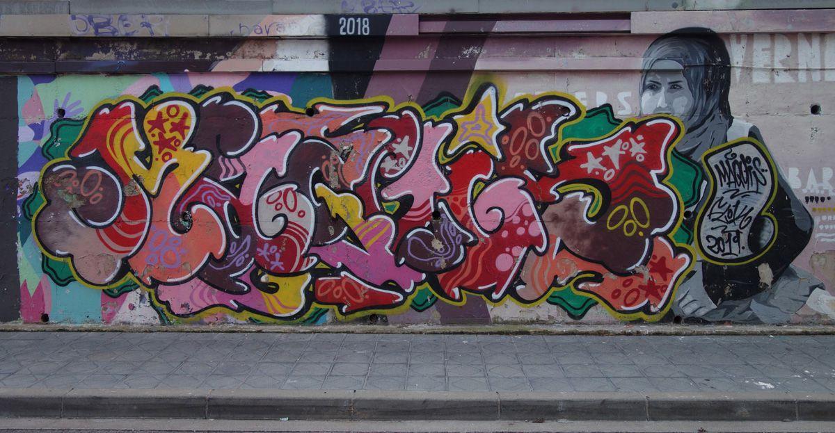 Street Art : Graffitis & Fresques Murales 43001 Tarragona (Catalunya)
