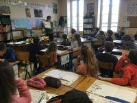 Ateliers autour de l'auteur-illustratrice Elzbieta en classe de CE2