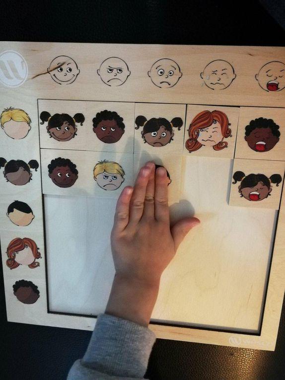 On joue avec les expressions du visage !