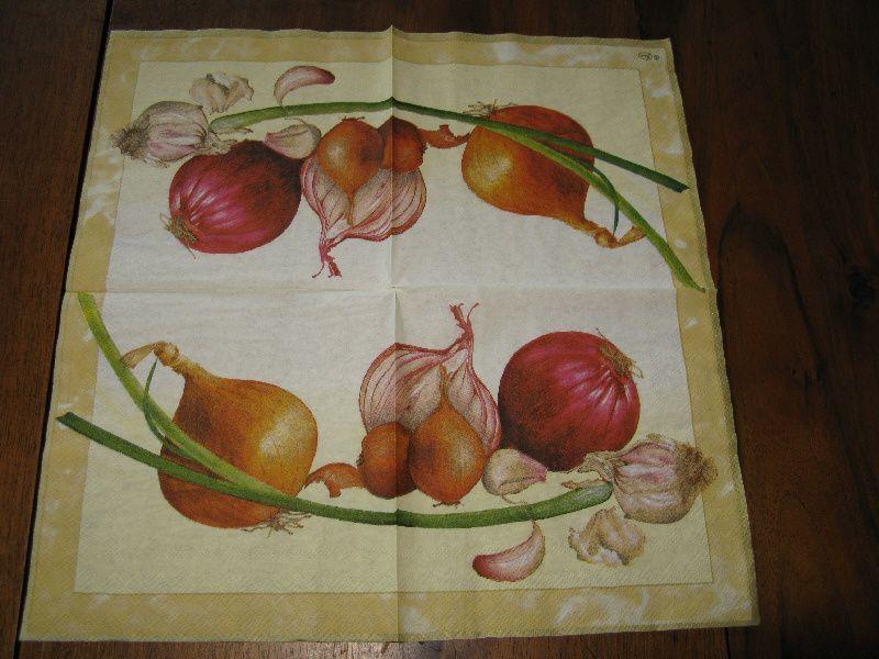 Album - Serviettes Legumes