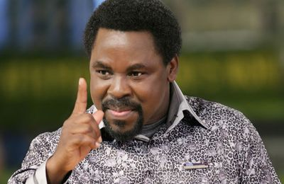 """Prophet TB Joshua's Youtube channel closed after he delivered woman from """"GAY/LESBIAN"""" spirit"""