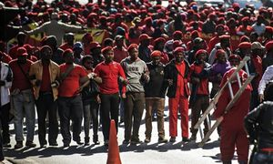 The Guardian - Civil society and unions unite to shake up South Africa's political landscape